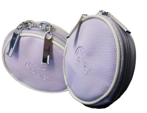 New Authentic Vintage LACOSTE Ladies Girls COIN PURSE Classic 9 Pearl Lavender