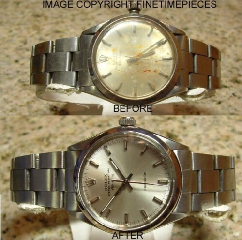 ROLEX WATCH MOVEMENT SERVICE CLEANING POLISHING RESTORATION <br/> COMPLETE PROFESSIONAL WATCH SERVICING, RESTORATION, ETC
