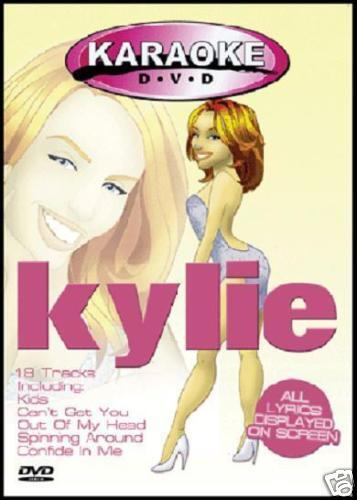 KYLIE MINOGUE - KARAOKE DVD ~ 18 AUSSIE Tracks! *NEW*