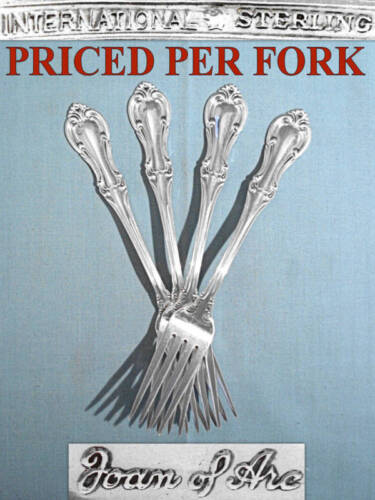 INTERNATIONAL STERLING FORK(S) ~ JOAN OF ARC ~ NO MONO