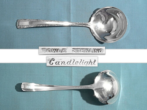 TOWLE STERLING GRAVY LADLE ~ CANDLELIGHT ~ NO MONO