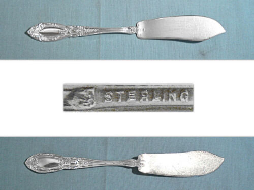 TOWLE STERLING FLAT HANDLE MASTER BUTTER KNIFE ~ KING RICHARD ~ NO MONO