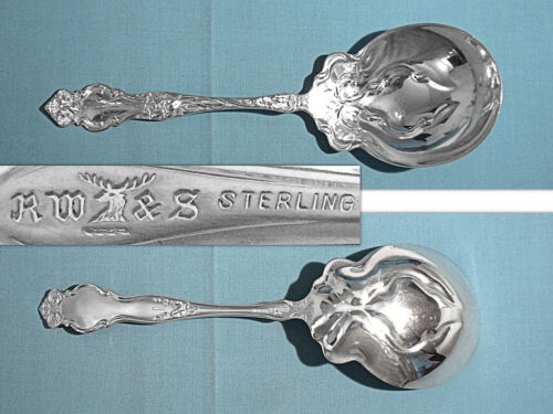 WALLACE STERLING BERRY SPOON ~ ETON ~ MONO MD