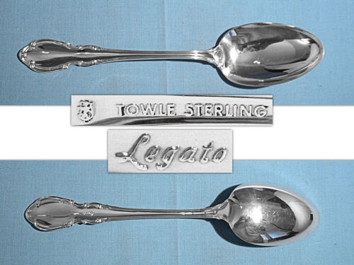 "TOWLE STERLING 8 3/8"" SERVING SPOON(S) ~ LEGATO ~ NO MONO"