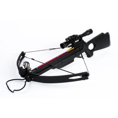 150 lb lbs Black Compound Hunting Crossbow Archery Bow +2 Arrows 180 175 80 50Crossbows - 33972