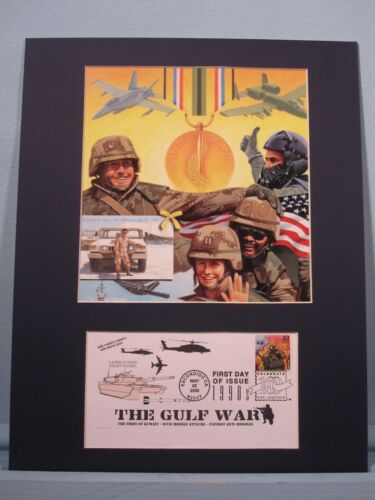 Honoring The U.S. Armed Forces Veterans of Desert Storm & First Day CoverReproductions - 156449