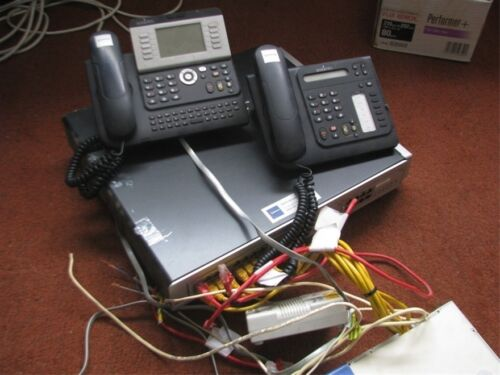 ALCATEL-Lucent OmniPCX Office Small Phone System + 4 Handsets