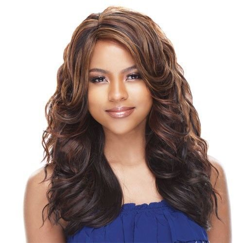 GALA BY FREETRESS EQUAL SYNTHETIC HAIR WIG LONG WAVY STYLE CURLING IRON SAFE
