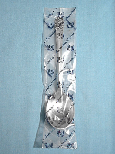 NEW ~ INTERNATIONAL STERLING CREAM SOUP SPOON(S) ~ SPRING GLORY