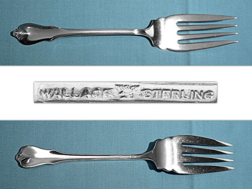 WALLACE STERLING SERVING FORK ~ GRAND COLONIAL ~ NO MONO