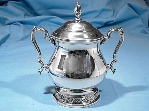 INTERNATIONAL STERLING COVERED SUGAR BOWL ~ PRELUDE ~ NO MONO