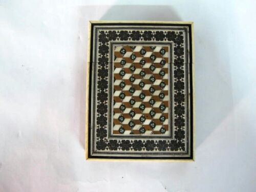 ANTIQUE ANGLO INDIAN CARD HOLDER C1860'S