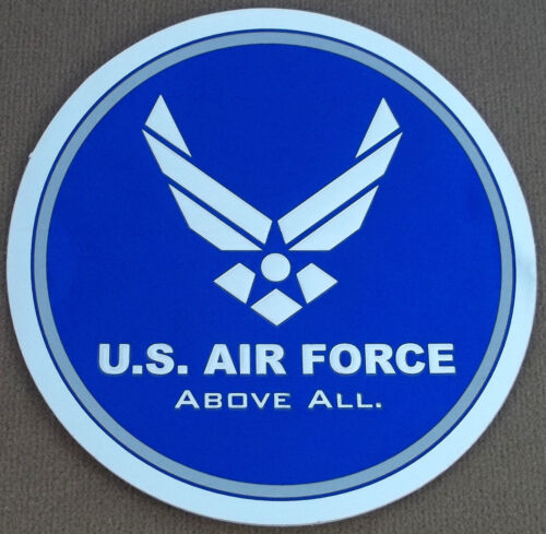 """US Air Force Decal - Sticker  """"Above All"""" with Air Force LogoAir Force - 66528"""