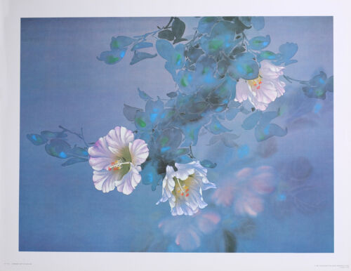 """LAVENDER LIGHT Wall Art; 12"""" x 16"""" by Artist David Lee - Vintage Lithograph Gift"""