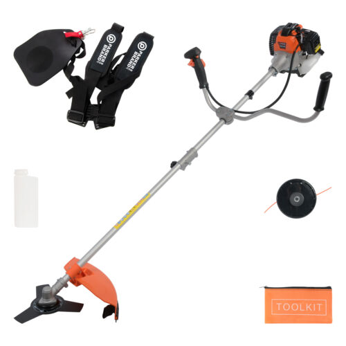 52cc Petrol Brush Cutter, Grass Line Trimmer <br/> UK Service ✔ Free Delivery* Available ✔ 2 Year Warranty