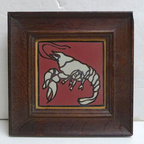Framed Lobster Tile by Mosaic Tile Company
