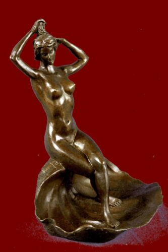 Nude Woman Bowl Bronze Statue Jewelry Tray Hot Cast Figurine Sale Decor Gift Art