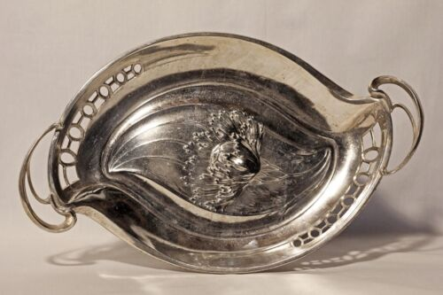 ART NOUVEAU WMF silver-plated Argentor Tray German Austrian plated silver plate