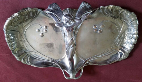 ART NOUVEAU WMF silver-plated Tray German Austrian silver plated silver plate