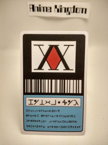 USA Seller Cosplay Hunter x Hunter 1 Star Hunter License Card  GON FREECSS Card