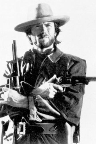 CLINT EASTWOOD - GUNS POSTER - 24x36 SHRINK WRAPPED - OUTLAW JOSEY WALES 2858