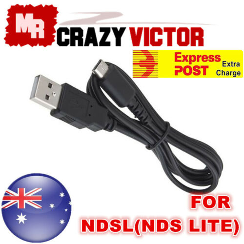 1M USB Power Charging Charger Sync Data Cable Cord for Nintendo DS Lite NDS NDSL