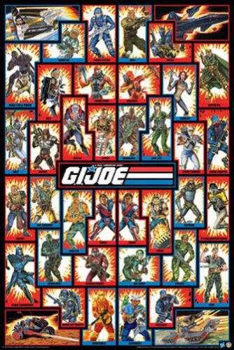 GI JOE - CHARACTERS POSTER - 24x36 COLLAGE CAST 241268