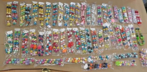 1 NEW CHUNKY BUBBLEGUM NECKLACE 49 DIFFERENT OPTIONS!!princess,frozen,holiday