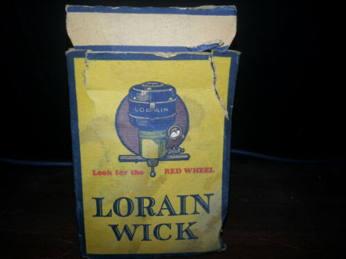 LORAIN OIL STOVE WICK~ by AMERICAN STOVE COMPANY *FREE SHIPPING*
