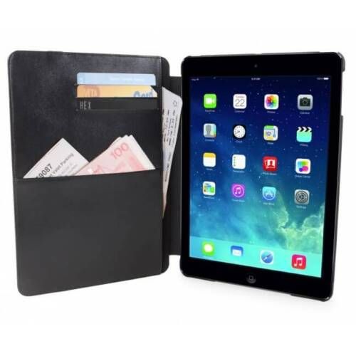 Genuine Hex Tablet Case Icon Folio For Ipad Air Supply - Charcoal Canvas