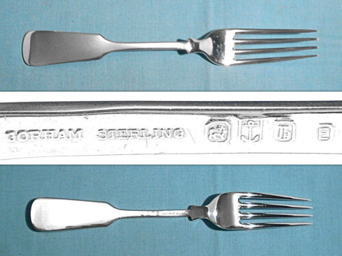 """GORHAM STERLING 7 3/4"""" EXTRA WEIGHT FORK(S) ~ OLD ENGLISH TIPT ~ NO MONO"""