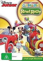 Mickey Mouse Clubhouse: Road Rally * NEW DVD * (Region 4 Australia)