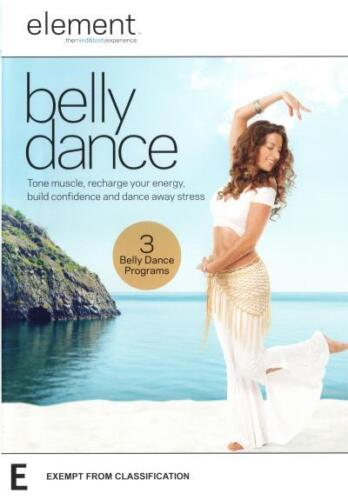 Element: Belly Dance NEW DVD (Region 4 Australia) tone muscle energy stress