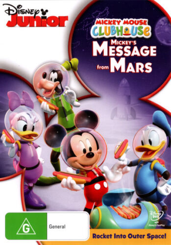 Mickey Mouse Clubhouse: Mickeys Message From Mars * NEW DVD *