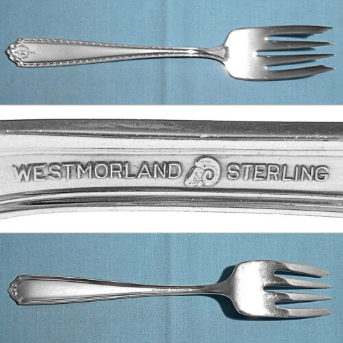 WESTMORLAND STERLING SERVING FORK ~ LADY HILTON ~ NO MONO