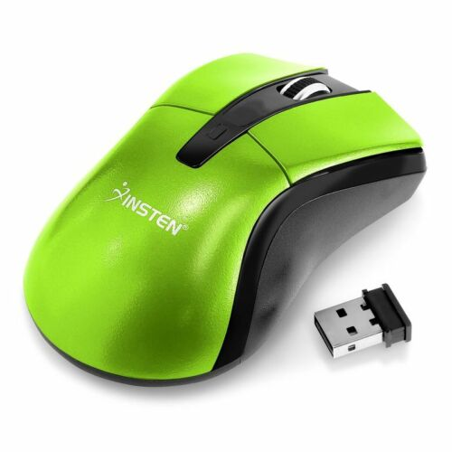 2.4GHz Wireless Cordless Optical Mouse Mice + USB Receiver for PC Laptop Green