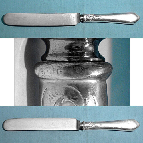 """LUNT STERLING 8 1/2"""" OLD FRENCH HOLLOW KNIFE(S) ~ NELLIE CUSTIS ~ NO MONO"""