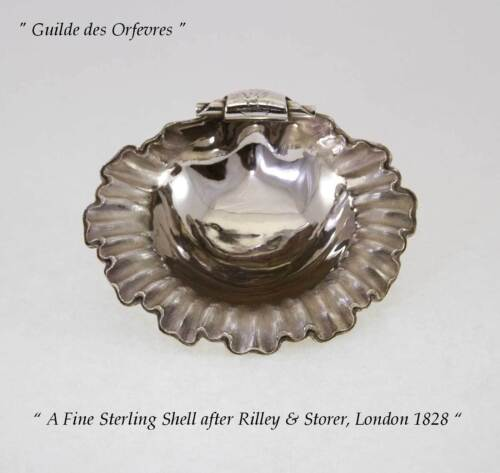 Sterling Silver Shell after Rilley & Storer, London 1828
