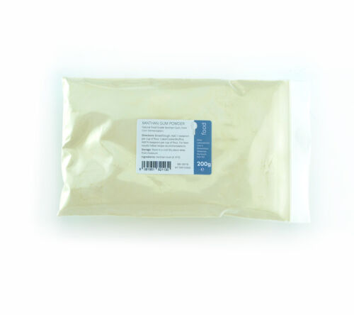 Xanthan Gum 200g - Highest Quality Food Grade Fine Powder <br/> Suitable for Food Use. In Stock & Ready For Dispatch.