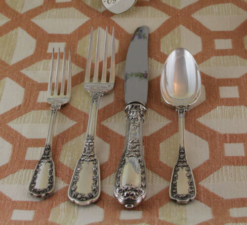 Sterling Silver Flatware 5-pc Place-Setting, 33- Beaugency