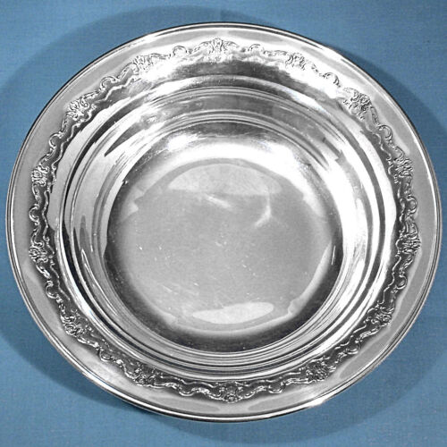 "TOWLE STERLING 9"" ROUND VEGETABLE BOWL #625 ~ FRENCH PROVINCIAL ~ NO MONO"