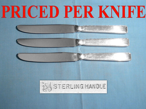 """TOWLE STERLING 9 1/2"""" NEW FRENCH HOLLOW KNIFE(S) ~ OLD LACE ~ NO MONO"""