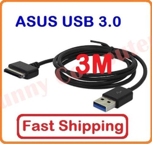 3M USB Data Sync Charger Cable For ASUS Transformer TF300 TF300TL SL101 TF700T