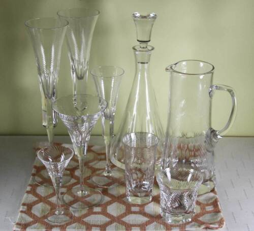 Majestic 9 pc Crystal Set Designed for Renwick & Clark