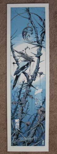 Night Comes Black print by Aaron Horkey signed and numbered