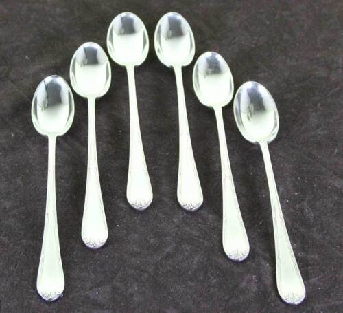 Silver Set of 6 Long-Drink Spoons, Louis Seize
