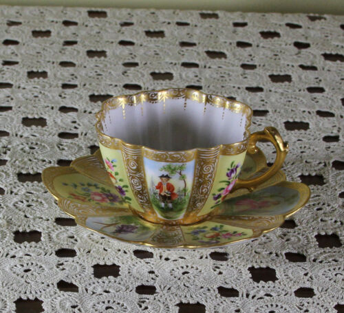 Collectors Tea Cup & Saucer of Celestial Beauty