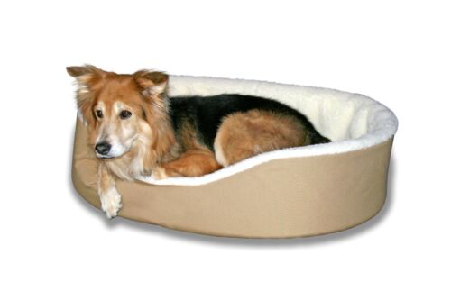 Dog Bed King USA. #1 Made In USA Dog Bed Company. Medium, Large and XXL. TAN