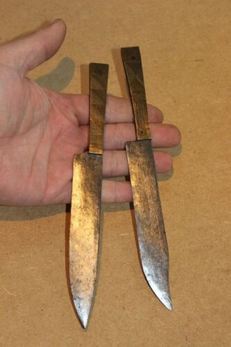 CONGO 2 old african knife ancien couteau CHOKWE kongo africa d'afrique daggers