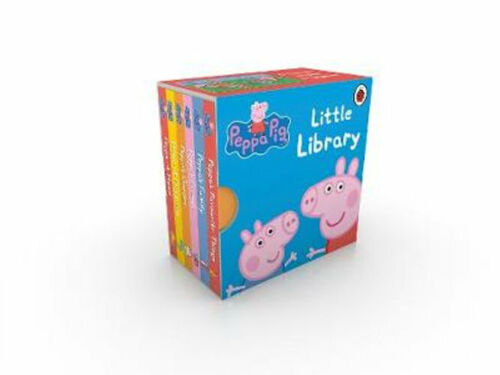 NEW Peppa Pig Little Library By Ladybird Board Book Free Shipping
